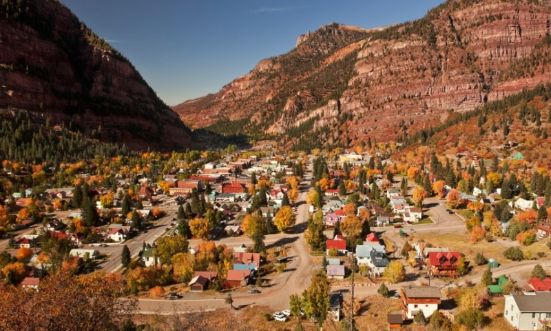 Overlooking Ouray